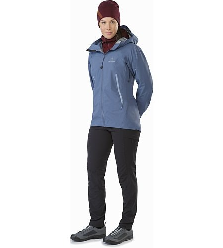 Zeta AR Jacket Women's Nightshadow Front View
