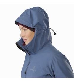 Zeta AR Jacket Women's Nightshadow Hood Up