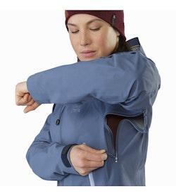 Zeta AR Jacket Women's Nightshadow Pit Zip