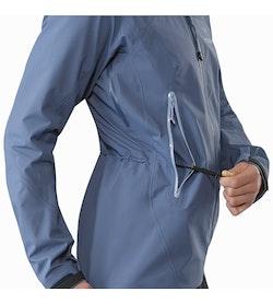 Zeta AR Jacket Women's Nightshadow Waist Adjuster