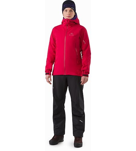 Zeta AR Jacket Women's Radicchio Front View