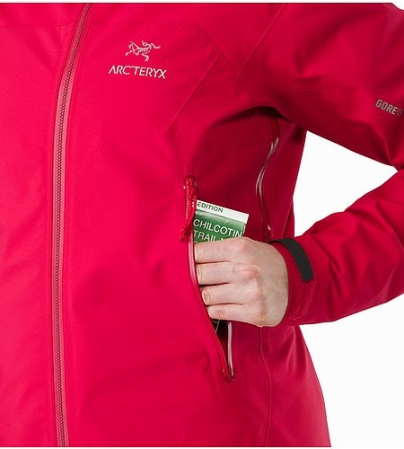 Zeta AR Jacket Women's Radicchio Hand Pocket