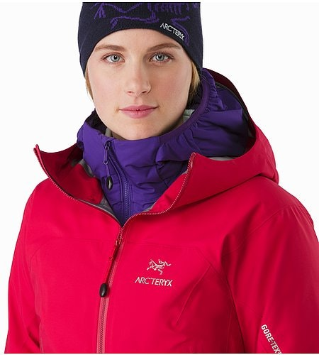 Zeta AR Jacket Women's Radicchio Open Collar