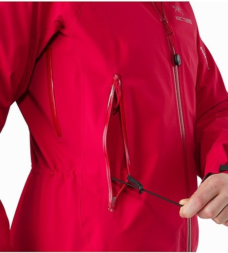 Zeta AR Jacket Women's Radicchio Waist Adjuster