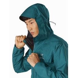 Zeta FL Jacket Paradigm Hood Side View