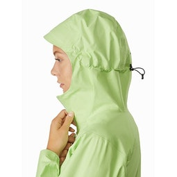 Zeta FL Jacket Women's Bioprism Hood Side View
