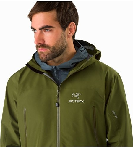 Zeta LT Jacket Bushwhack Open Collar