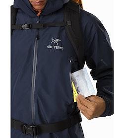 Zeta LT Jacket Cobalt Moon Chest Pocket