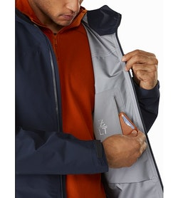 Zeta LT Jacket Cobalt Moon Security Pocket