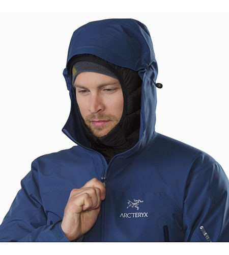 Zeta LT Jacket Cosmic Hood Up