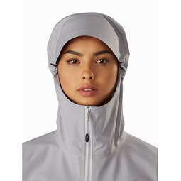 Zeta LT Jacket Women's Antenna Hood Front View
