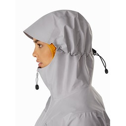 Zeta LT Jacket Women's Antenna Hood Side View