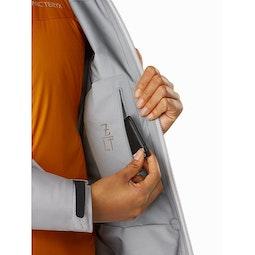 Zeta LT Jacket Women's Antenna Internal Security Pocket