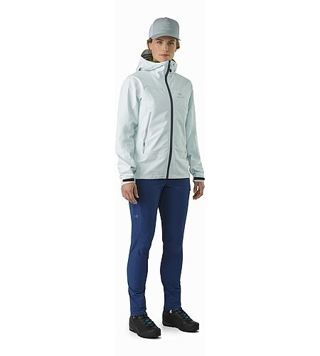 Zeta LT Jacket Women's Dew Drop Front View
