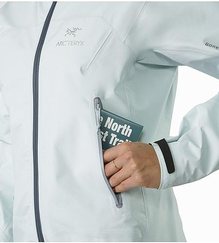Zeta LT Jacket Women's Dew Drop Hand Pocket