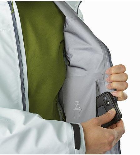 Zeta LT Jacket Women's Dew Drop Internal Pocket