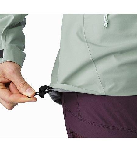 Zeta LT Jacket Women's Sage Hem Adjuster