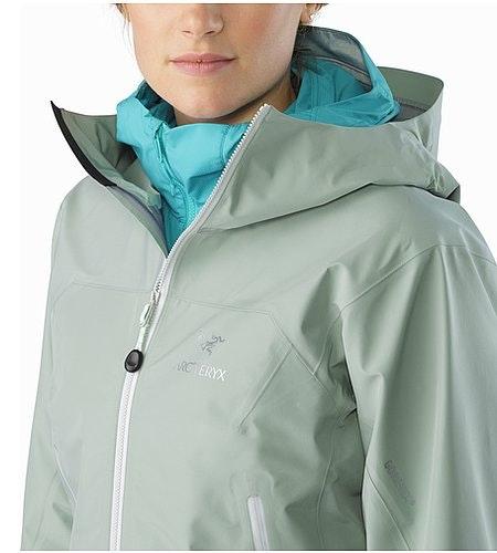 Zeta LT Jacket Women's Sage Open Collar