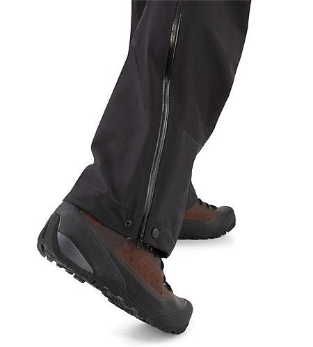 Zeta LT Pant Black Gaiter Grommet
