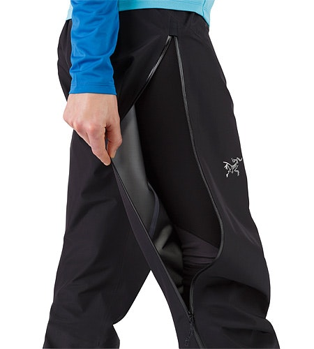 Zeta LT Pant Women's Black Side Vent