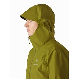 Zeta SL Jacket Elytron Hood Up