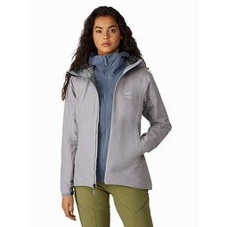 Zeta SL Jacket Women's Antenna Open View