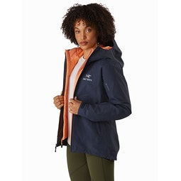 Zeta SL Jacket Women's Cobalt Moon Front View