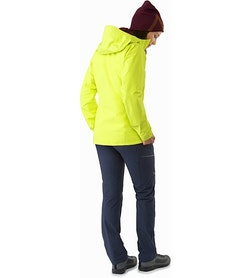 Zeta SL Jacket Women's Electrolyte Back View