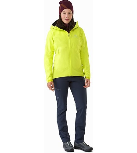 Zeta SL Jacket Women's Electrolyte Front View