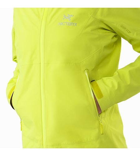 Zeta SL Jacket Women's Electrolyte Hand Pocket