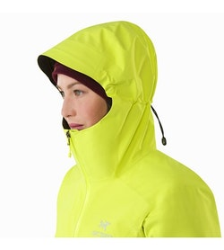 Zeta SL Jacket Women's Electrolyte Hood Up