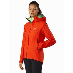 Zeta SL Jacket Women's Hyperspace Front View