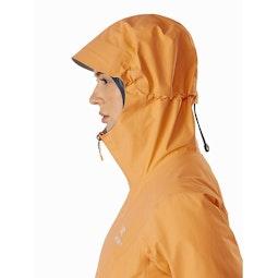 Zeta SL Jacket Women's Neoflora Hood Side View