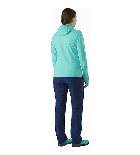 Zoa Hoody Women's Halcyon Back View