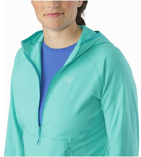 Zoa Hoody Women's Halcyon Open Collar
